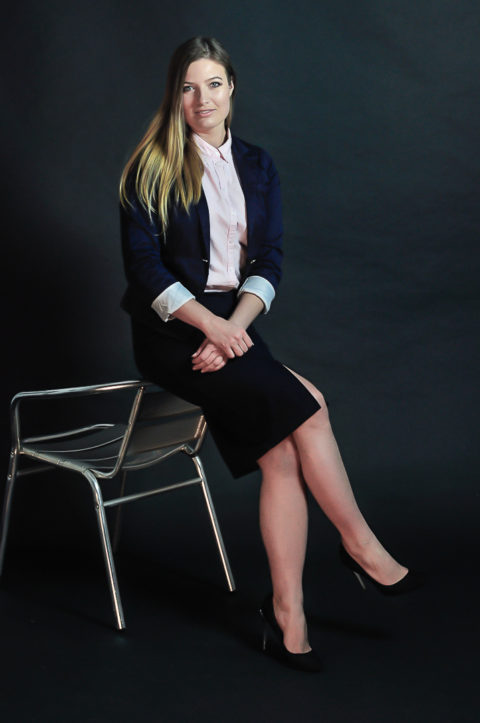 Sesja portretowa wstudiu - biznesowa
