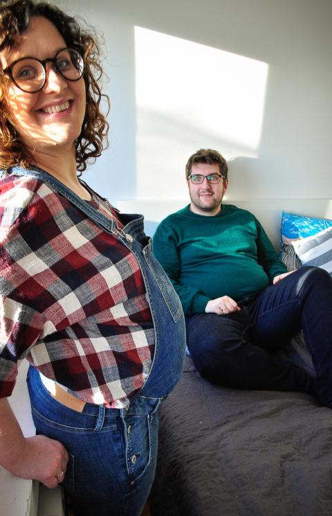 Malwina&Arek&Jadzia - sesja ciążowa wprzededniu porodu