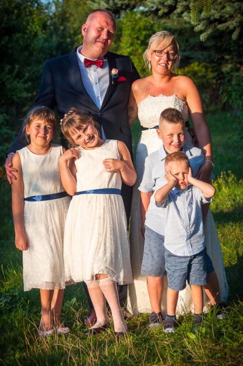 Reportaż ślubny - Paulina & Krzysiek orazich dzieci